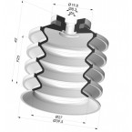 Bellows Suction Cup 4.5 folds Series 92, Ø 40 mm