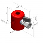"""Solenoid Plate 3 Outputs G1/4""""-IG"""